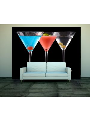 Foto behang Cocktails voorbeeld