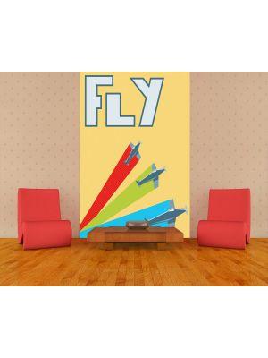 Foto behang Vlieg voorbeeld