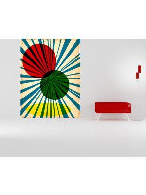Foto behang Retro Style II voorbeeld