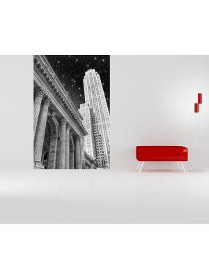 Foto behang New York in de Nacht voorbeeld