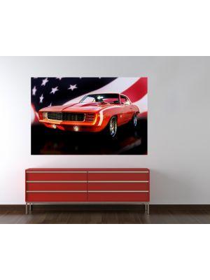 Foto behang Chevrolet Camaro voorbeeld
