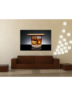 Foto behang Cognac voorbeeld