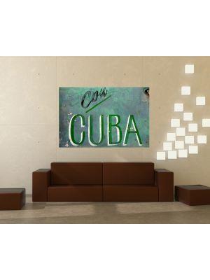 Foto behang Cuba voorbeeld