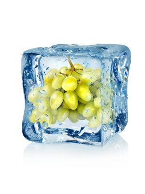 Foto behang Ijsblokje met druiven