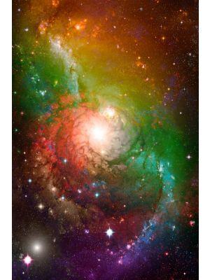 Foto behang Spiral Galaxy