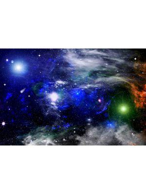 Foto behang Galaxy