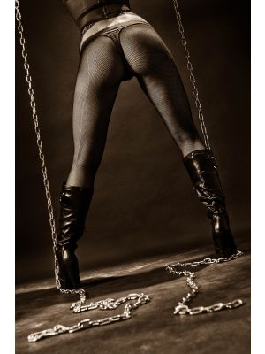 Foto behang Heels and Chains