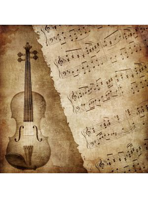 Foto behang Music Old Paper Grunge