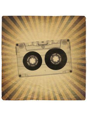 Foto behang Music Old Paper Grunge II