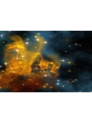 Foto behang Nebula Galaxy