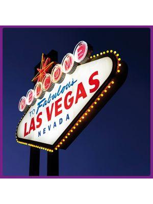 Foto print op canvas Las Vegas