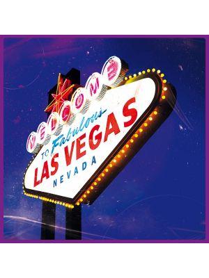 Foto print op canvas Las Vegas - Vintage