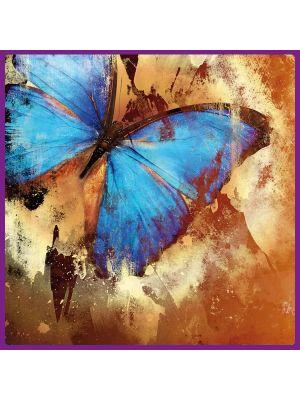 Foto print op canvas Vlinder