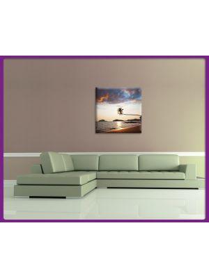 Foto print op canvas Tropisch strand 1