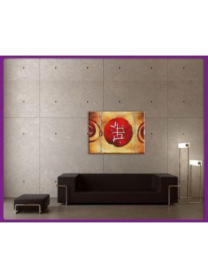 Foto print op canvas Chineze Kunst