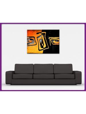 Foto print op canvas Kunst vormen
