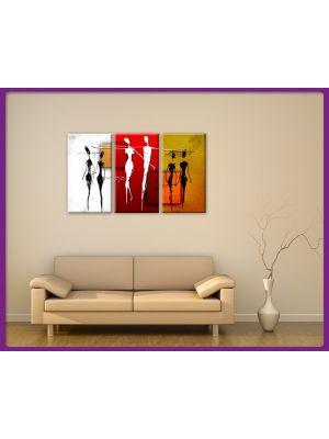 Foto print op canvas Kunst paar