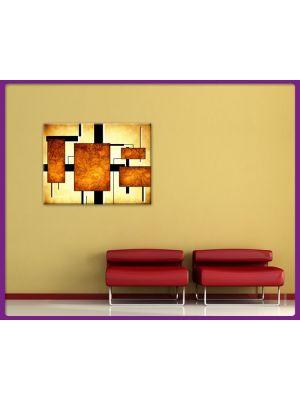 Foto print op canvas Modern Art - Vormen