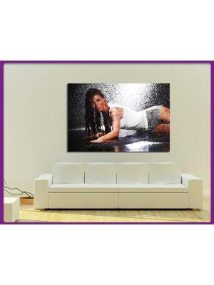 Foto print op canvas Sexy Model I