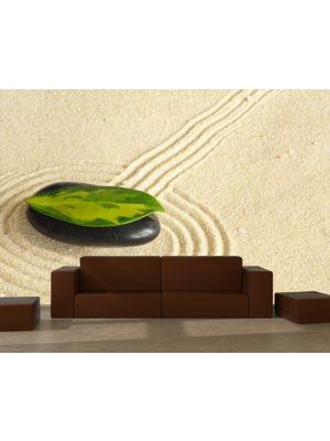 Foto behang Zen stenen voorbeeld kleur
