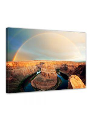 Horseshoe Bend - Arizona - Foto print op canvas