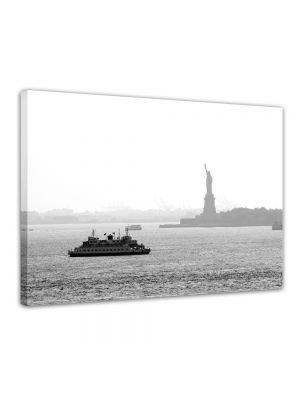 New York II - Foto print op canvas
