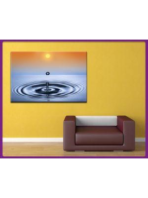 Canvas print Waterdruppel