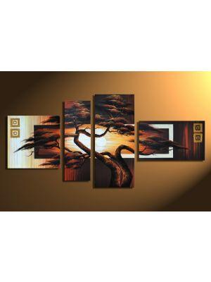 Boom handgeschilderde canvas 140x80cm
