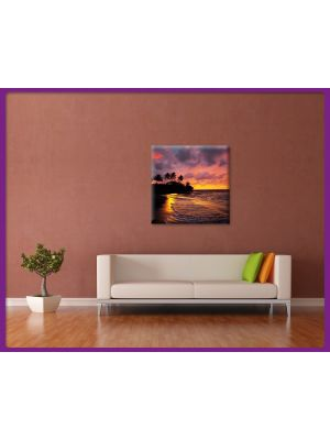 Foto print op canvas Tropisch strand 2