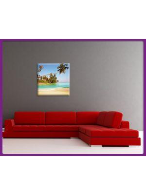 Foto print op canvas Tropisch strand 3