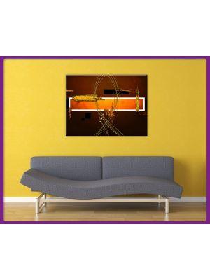 Foto print op canvas Kunst in aarde kleuren
