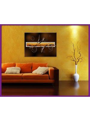 Foto print op canvas Modern Art - Vormen en lijnen