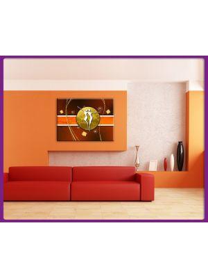 Foto print op canvas Paar Kunst