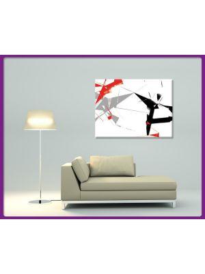 Foto print op canvas Modern Art