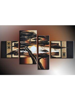 Boom 3 - 4 delig canvas 120x70cm Handgeschilderd