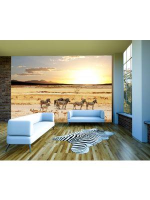 Fotobehang Afrikaanse Savanne