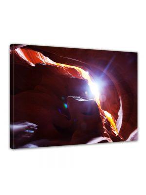 Antelope Canyon USA - Foto print op canvas