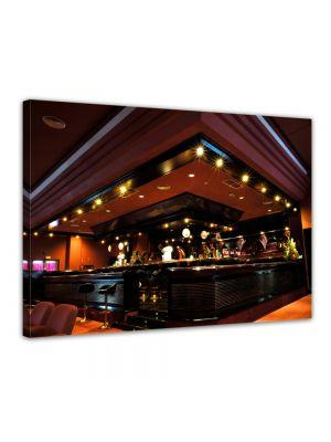 Bar - Foto print op canvas