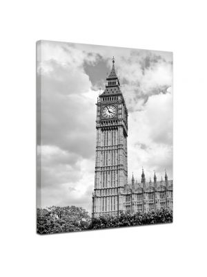Big Ben London UK - Foto print op canvas