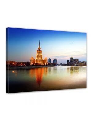 Moskou - Rusland - Foto print op canvas