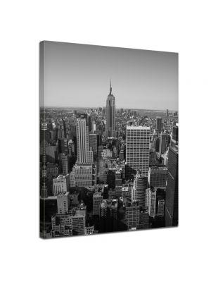 New York City V - Foto print op canvas