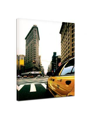 Yellow cab canvas - New York USA Manhattan